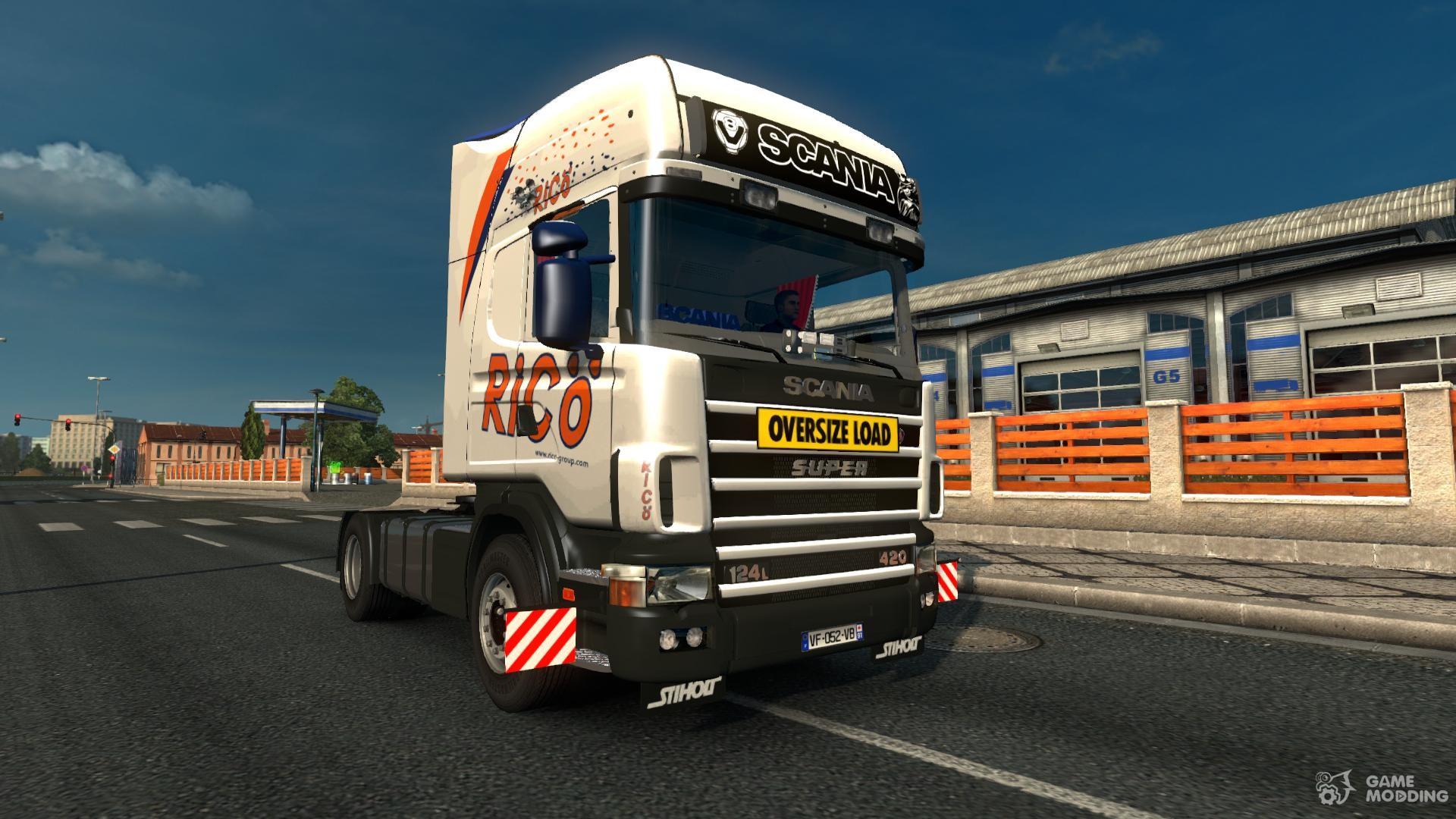 scania 4 v 2 2 1 for euro truck simulator 2. Black Bedroom Furniture Sets. Home Design Ideas