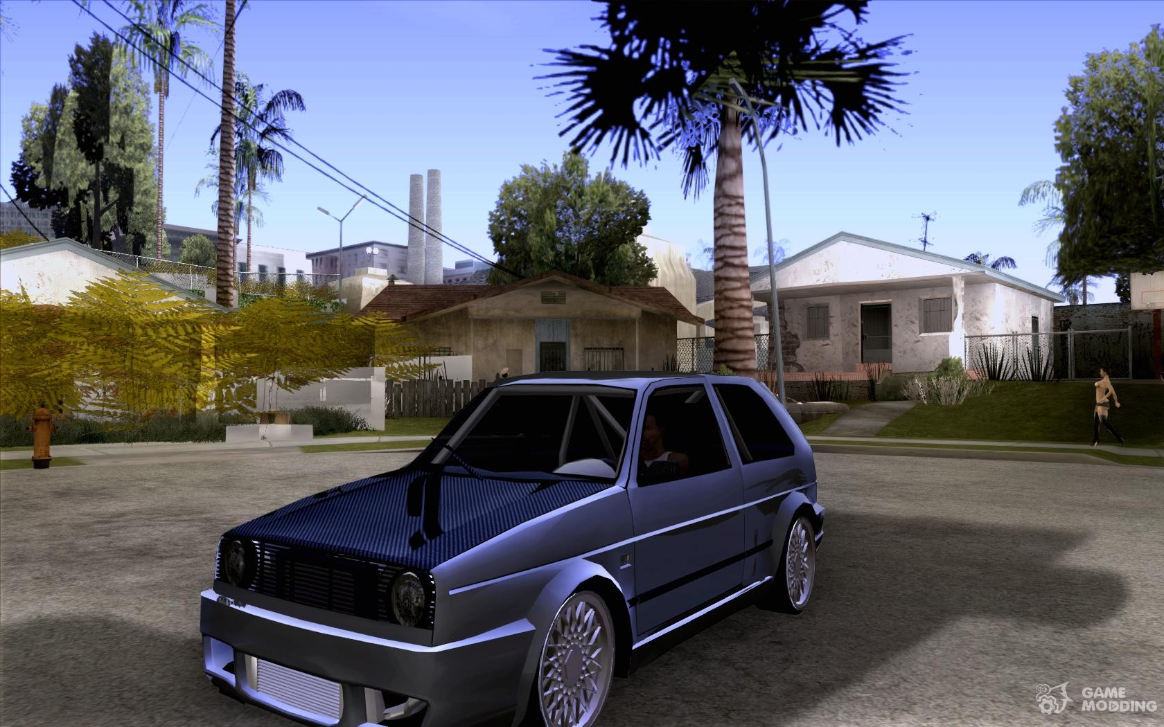 volkswagen golf gti tuning 2 for gta san andreas. Black Bedroom Furniture Sets. Home Design Ideas