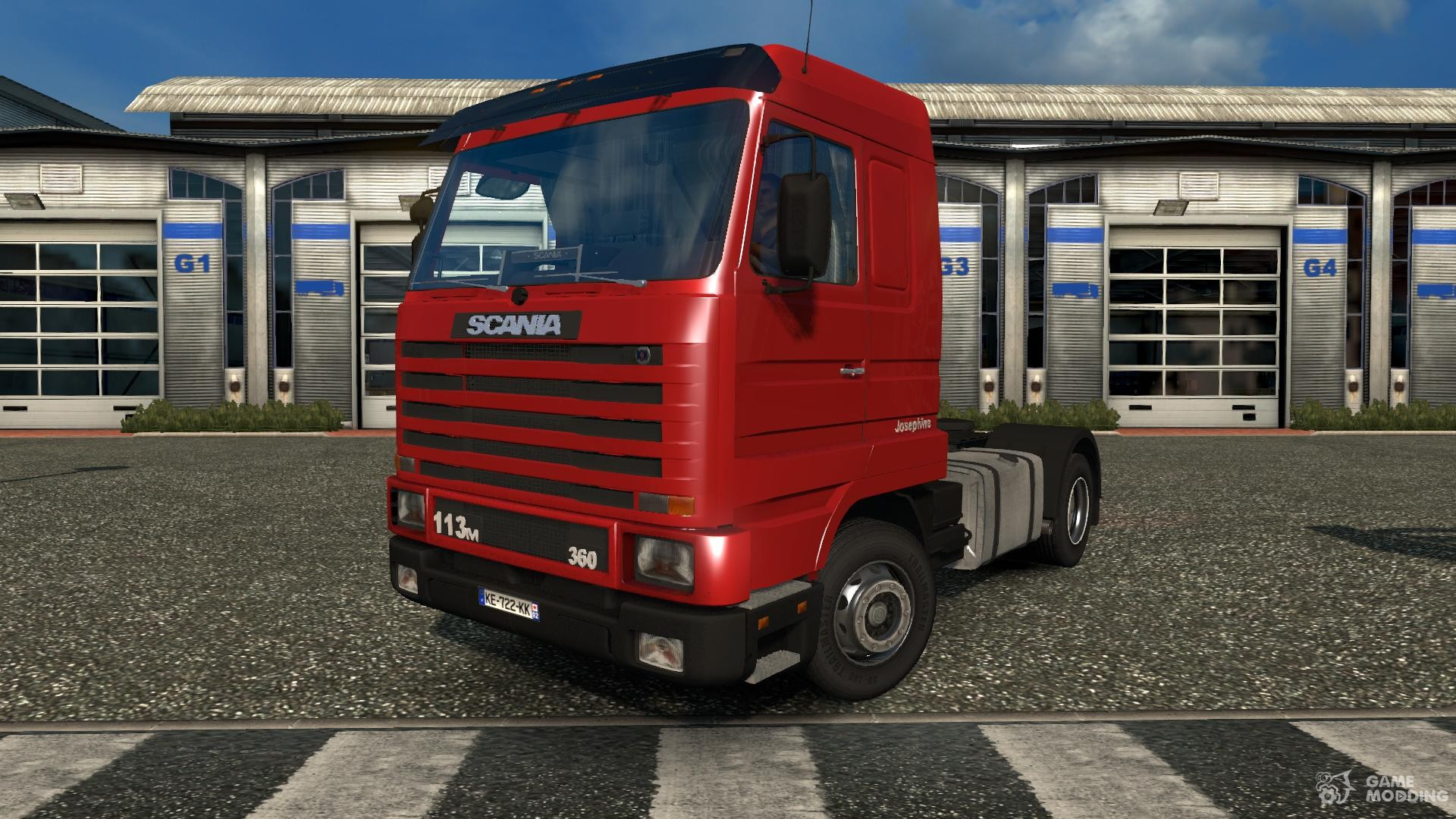 scania 143m v 3 5 for euro truck simulator 2. Black Bedroom Furniture Sets. Home Design Ideas