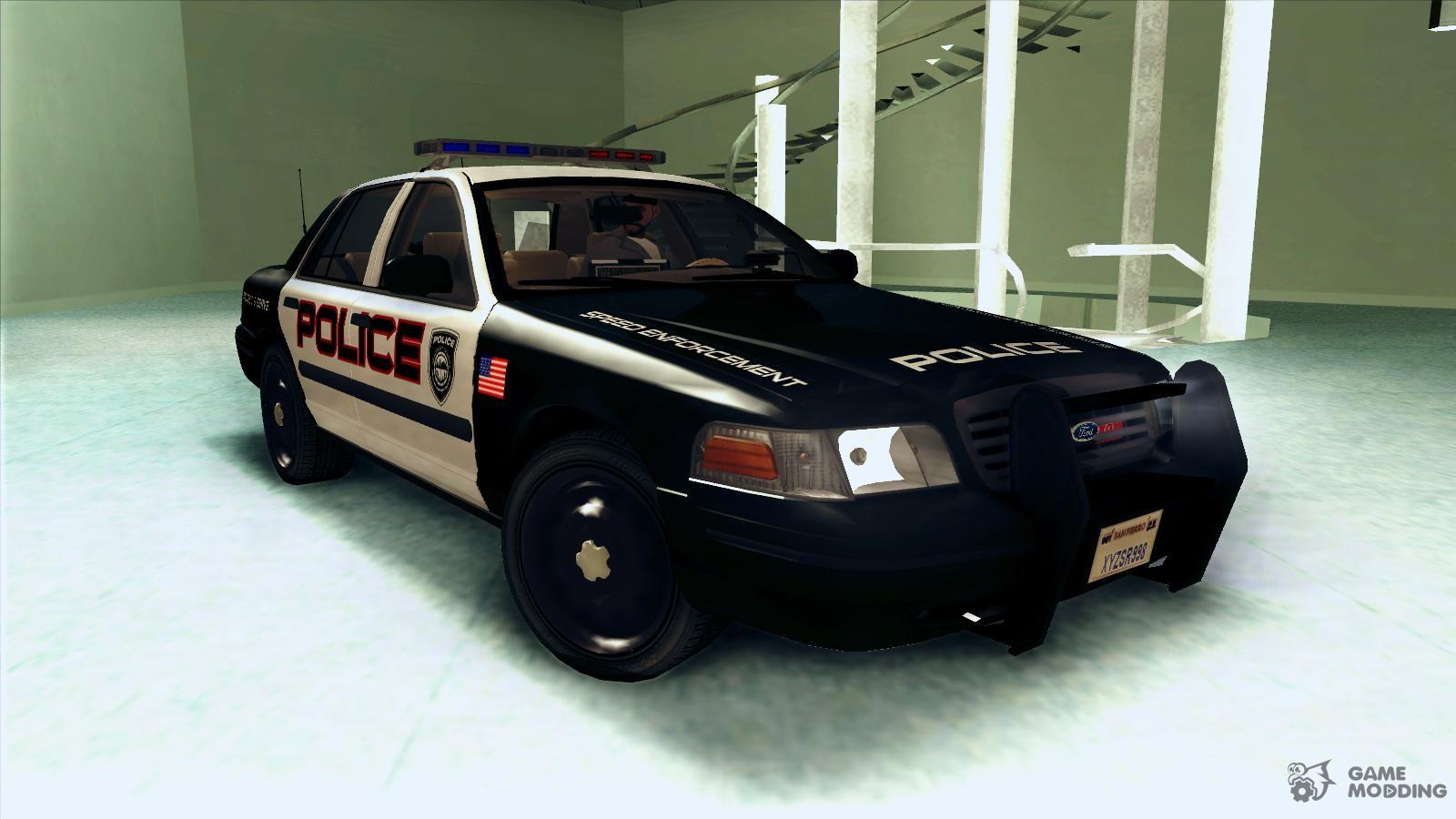 ford crown victoria police interceptor for gta san andreas. Black Bedroom Furniture Sets. Home Design Ideas