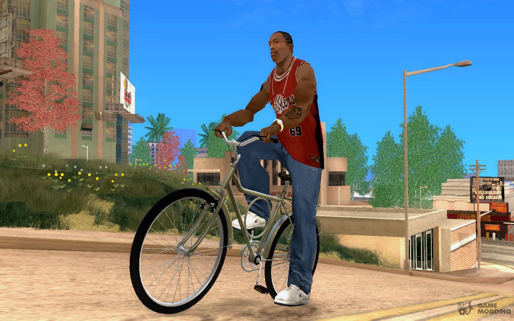 Велосипеды для gta san andreas