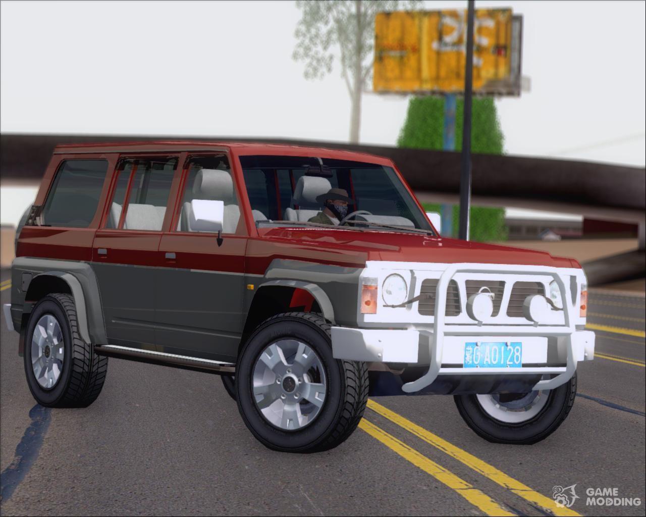Nissan Patrol Y60 for GTA San Andreas