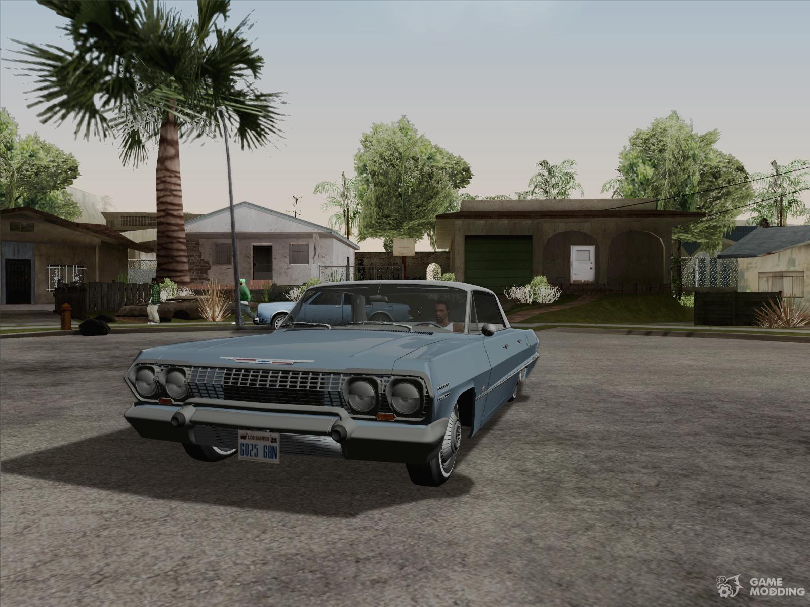 Chevrolet impala 4 door hardtop 1963 for gta san andreas - Chevrolet Impala 4 Door Hardtop 039 63 For Gta San Andreas
