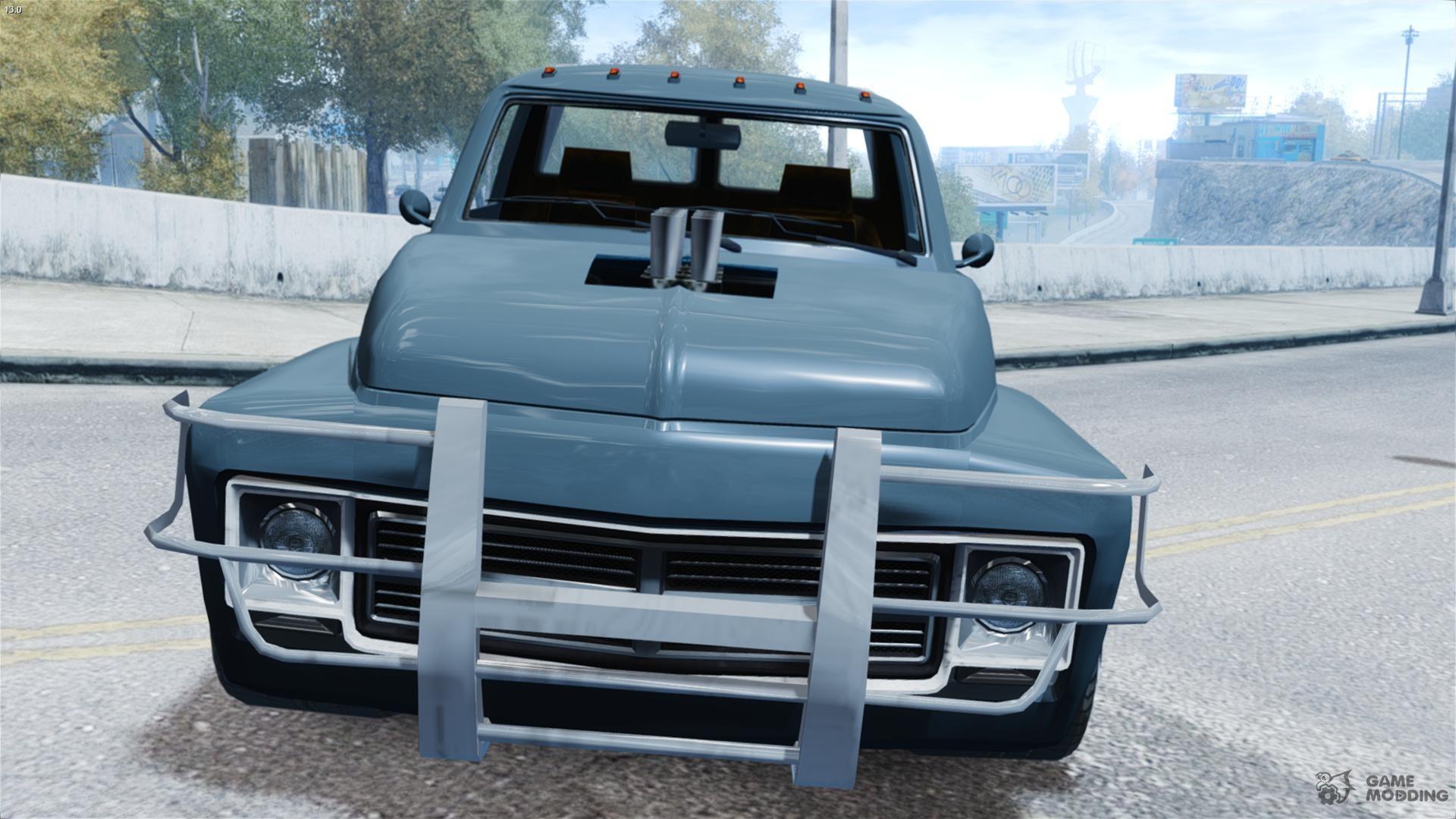 towcar pickup truck for gta 4. Black Bedroom Furniture Sets. Home Design Ideas
