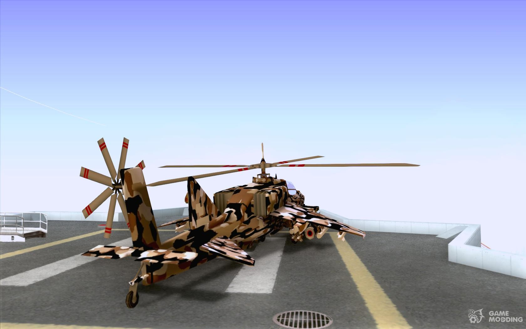how to fly hydra in gta san andreas
