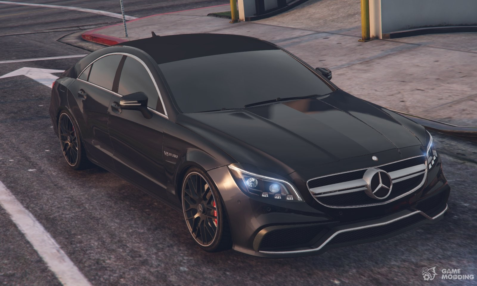 Mercedes benz cls 63 amg 2015 for gta 5 for Mercedes benz gta