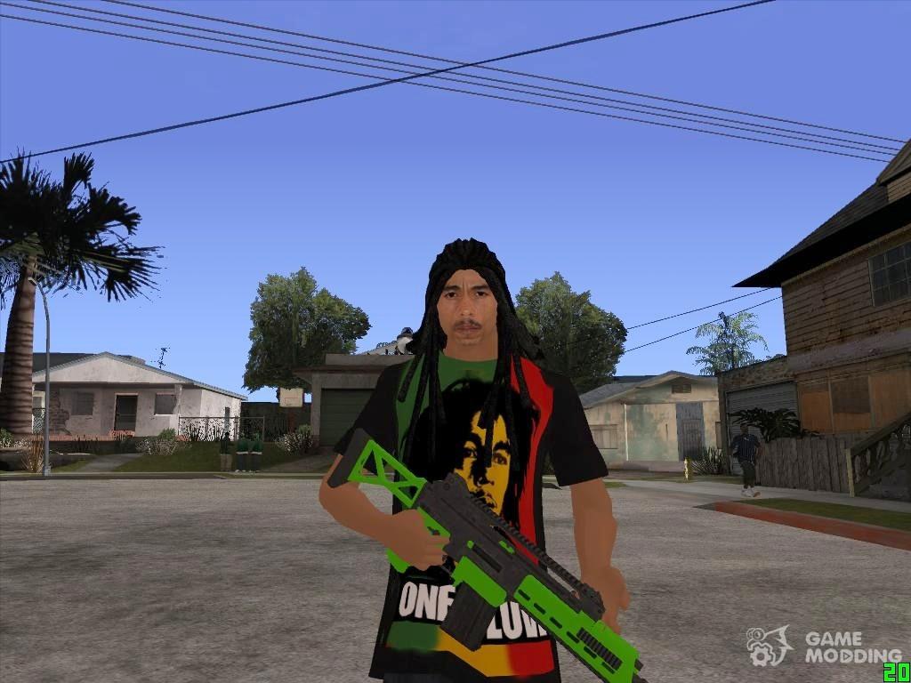 Bob Marley for GTA San Andreas