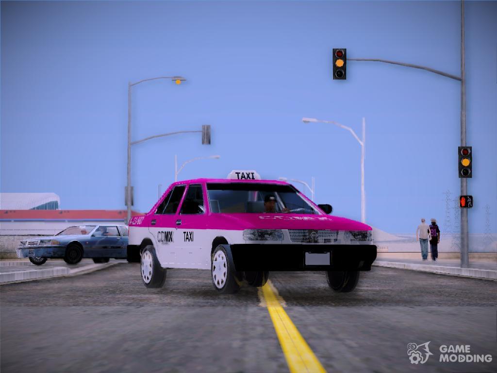 Nissan Tsuru Taxi для GTA San Andreas