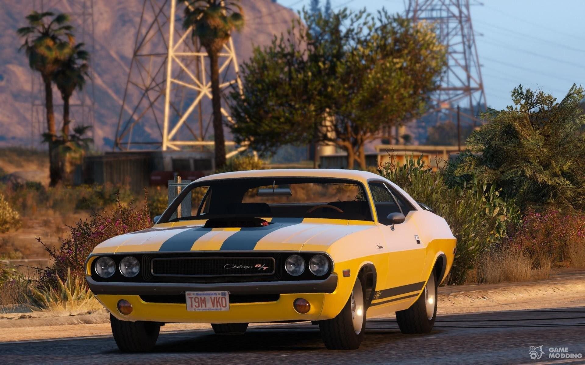 1970 Dodge Challenger Rt 440 For Gta 5