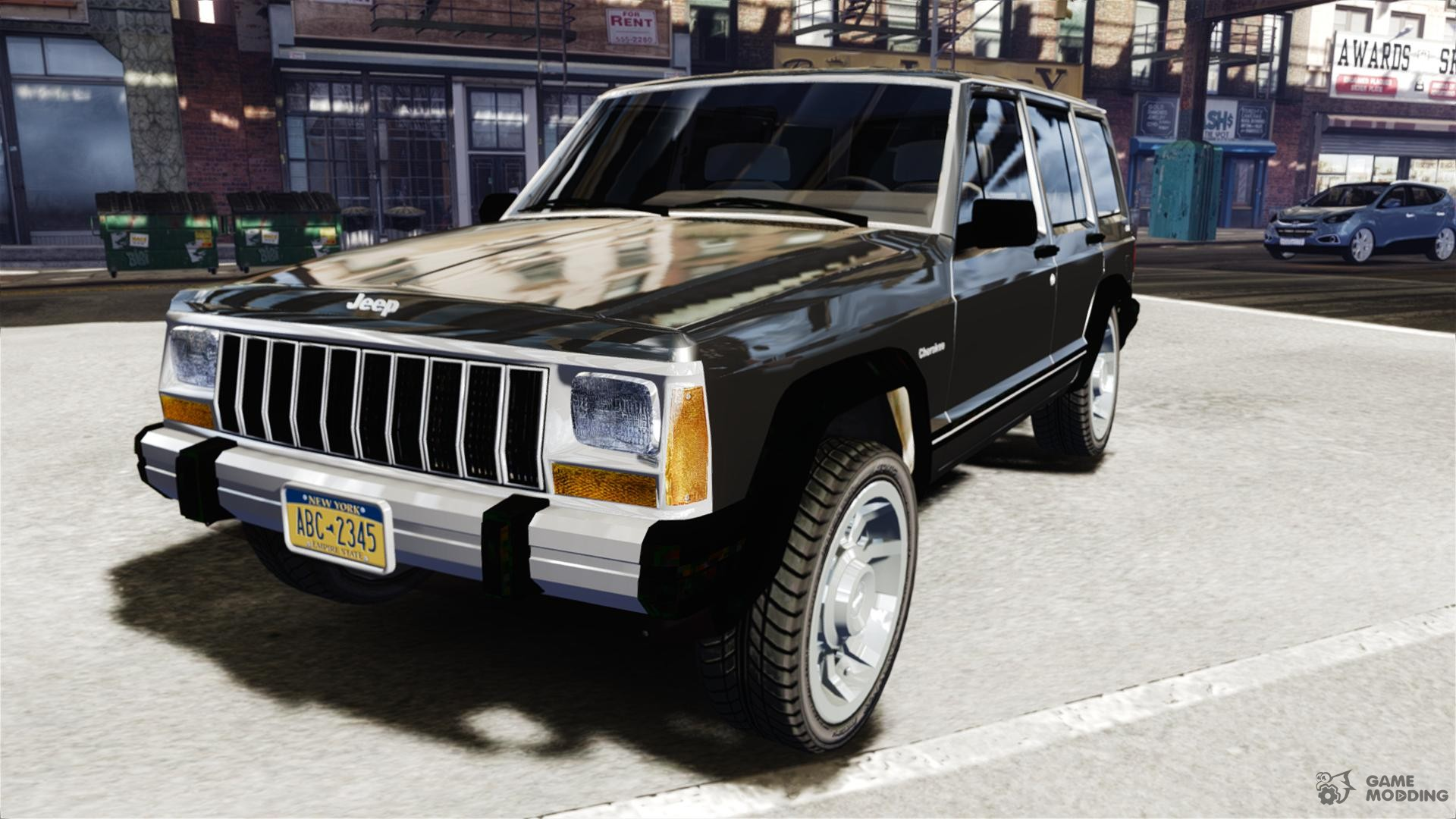 1992 jeep cherokee for gta 4
