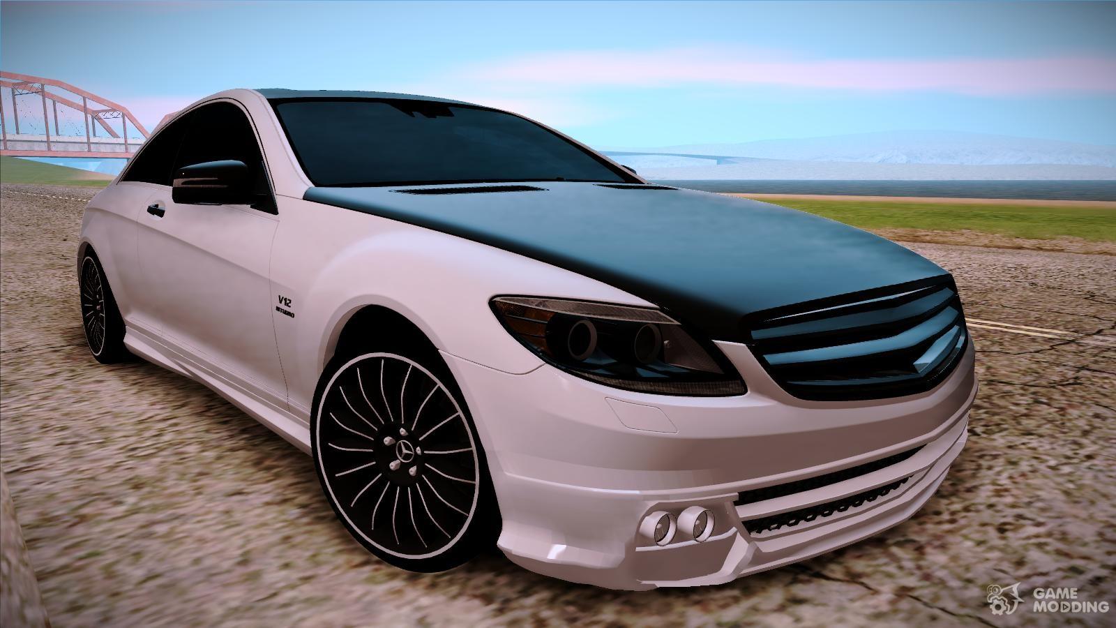 Mercedes Benz Cl63 Amg For Gta San Andreas