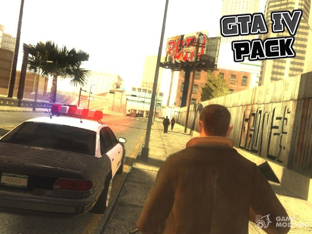GTA IV Pack 2016 (Low PC) for GTA San Andreas