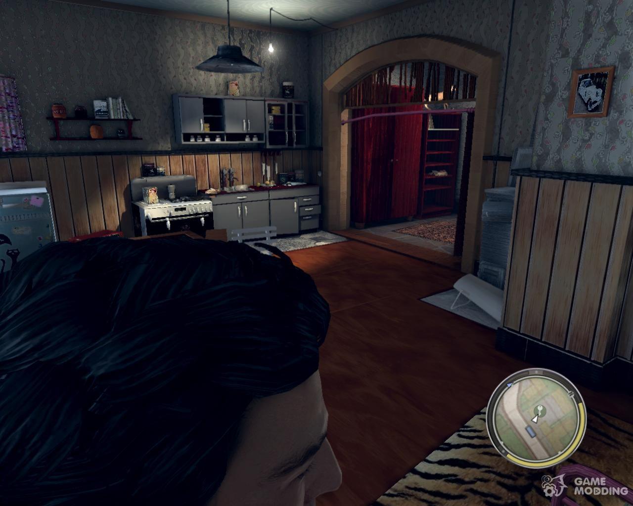Mafia 2 обновленная первая квартира джо +оружейный магазин