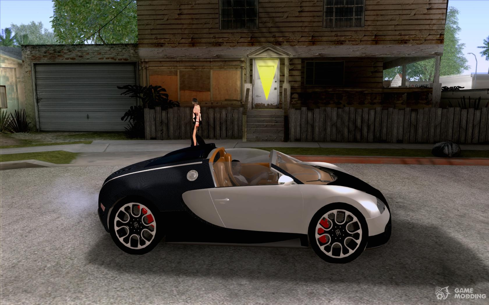bugatti veyron 16 4 grand sport sang bleu for gta san andreas. Black Bedroom Furniture Sets. Home Design Ideas