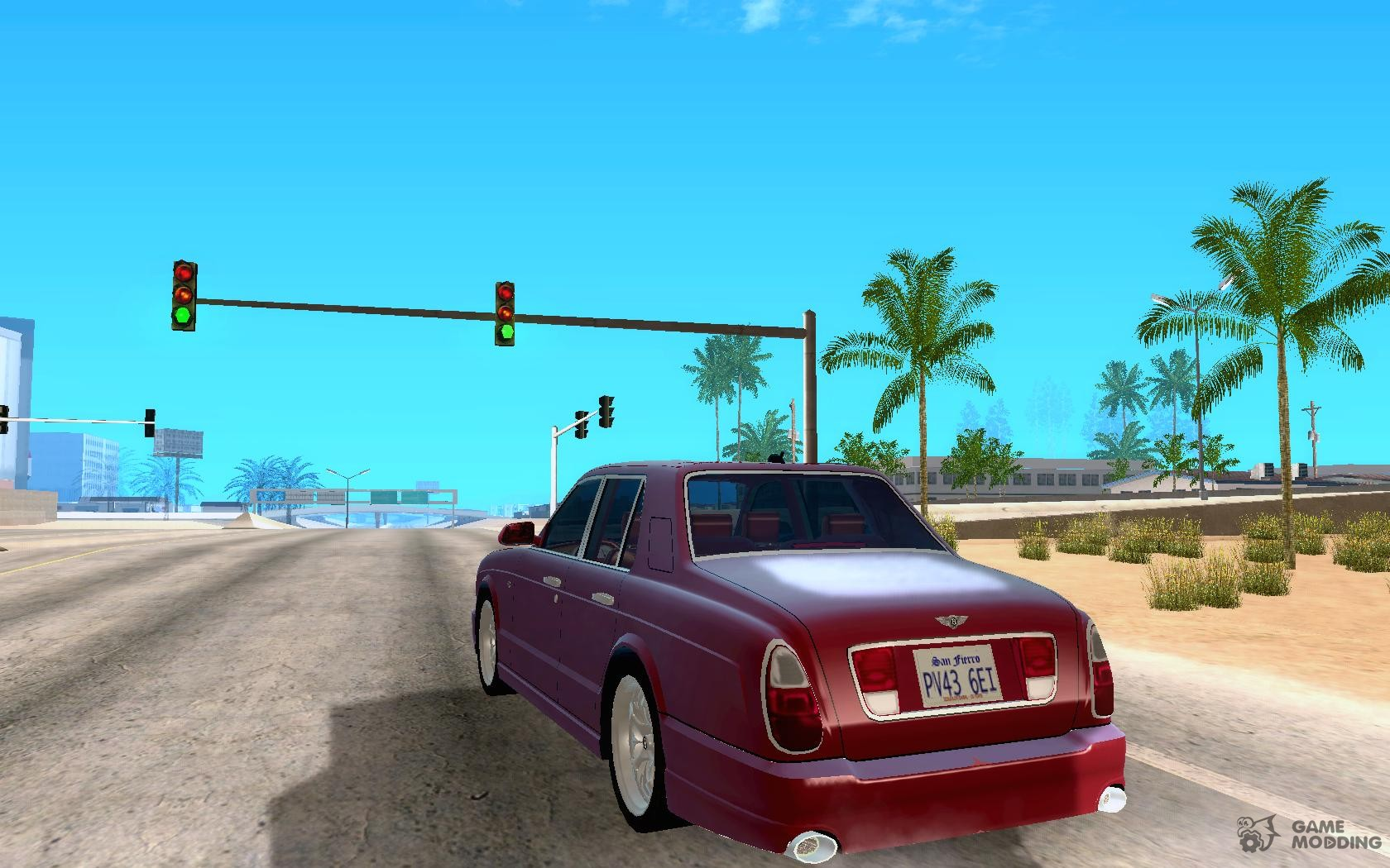 2005 bentley arnage r for gta san andreas bentley arnage r 2005 for gta san andreas rear left view vanachro Images