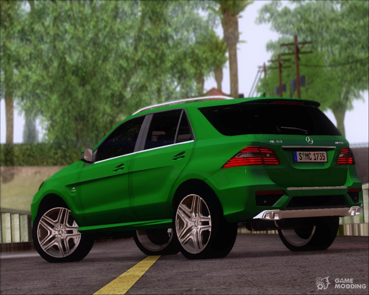 Mercedes benz ml 63 amg 2014 for gta san andreas for Mercedes benz cool springs