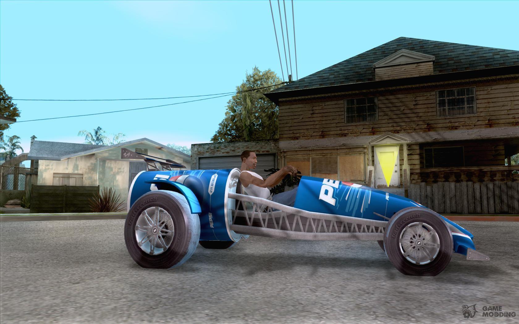 PEPSI Car For GTA San Andreas - Cool cars gta