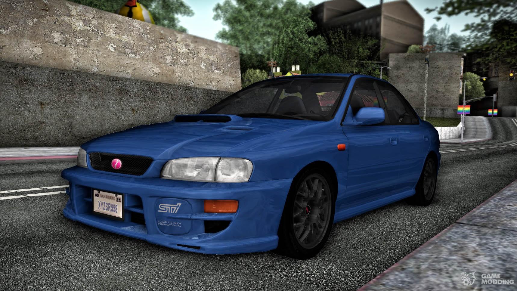 Subaru impreza wrx sti gc8 1999 for gta san andreas