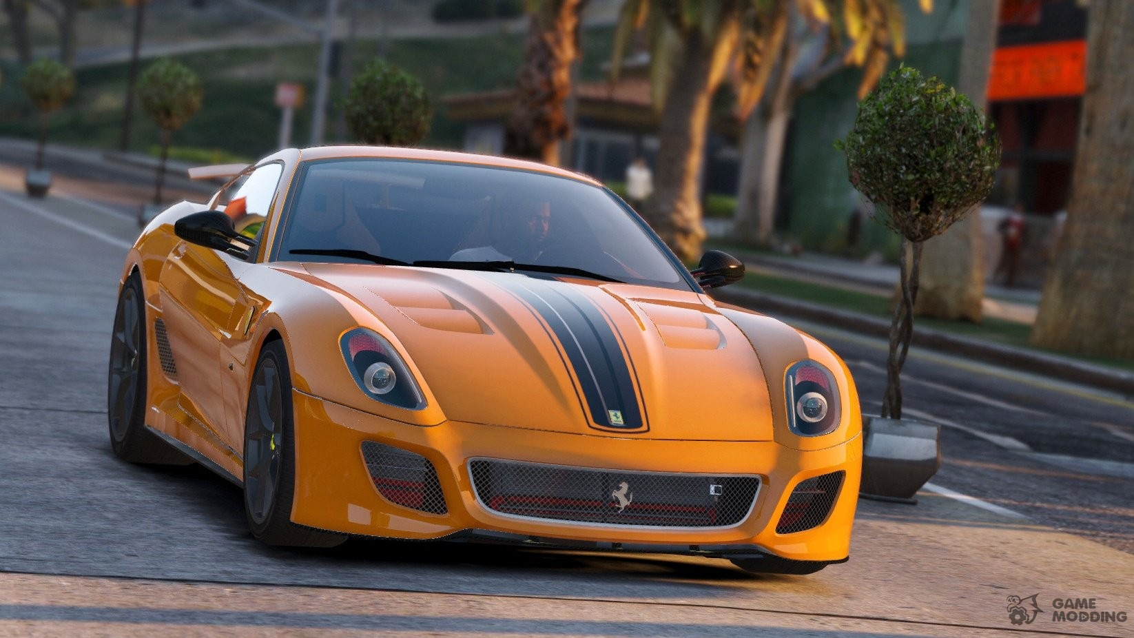 ferrari 599 gto 1 6 for gta 5. Black Bedroom Furniture Sets. Home Design Ideas