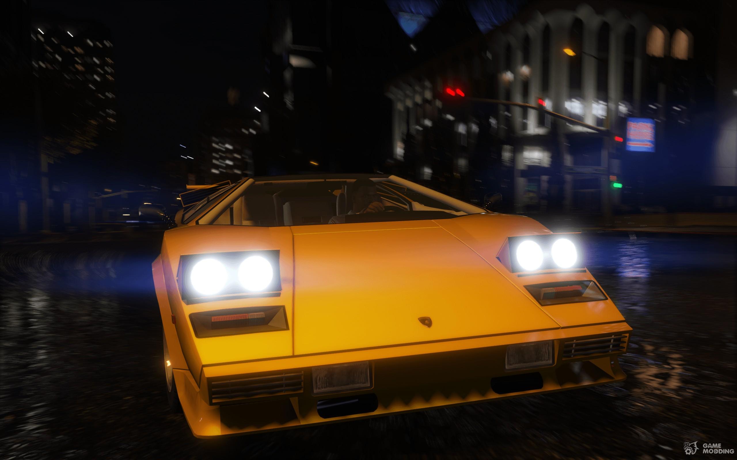 1988 Lamborghini Countach Qv 1 2 For Gta 5