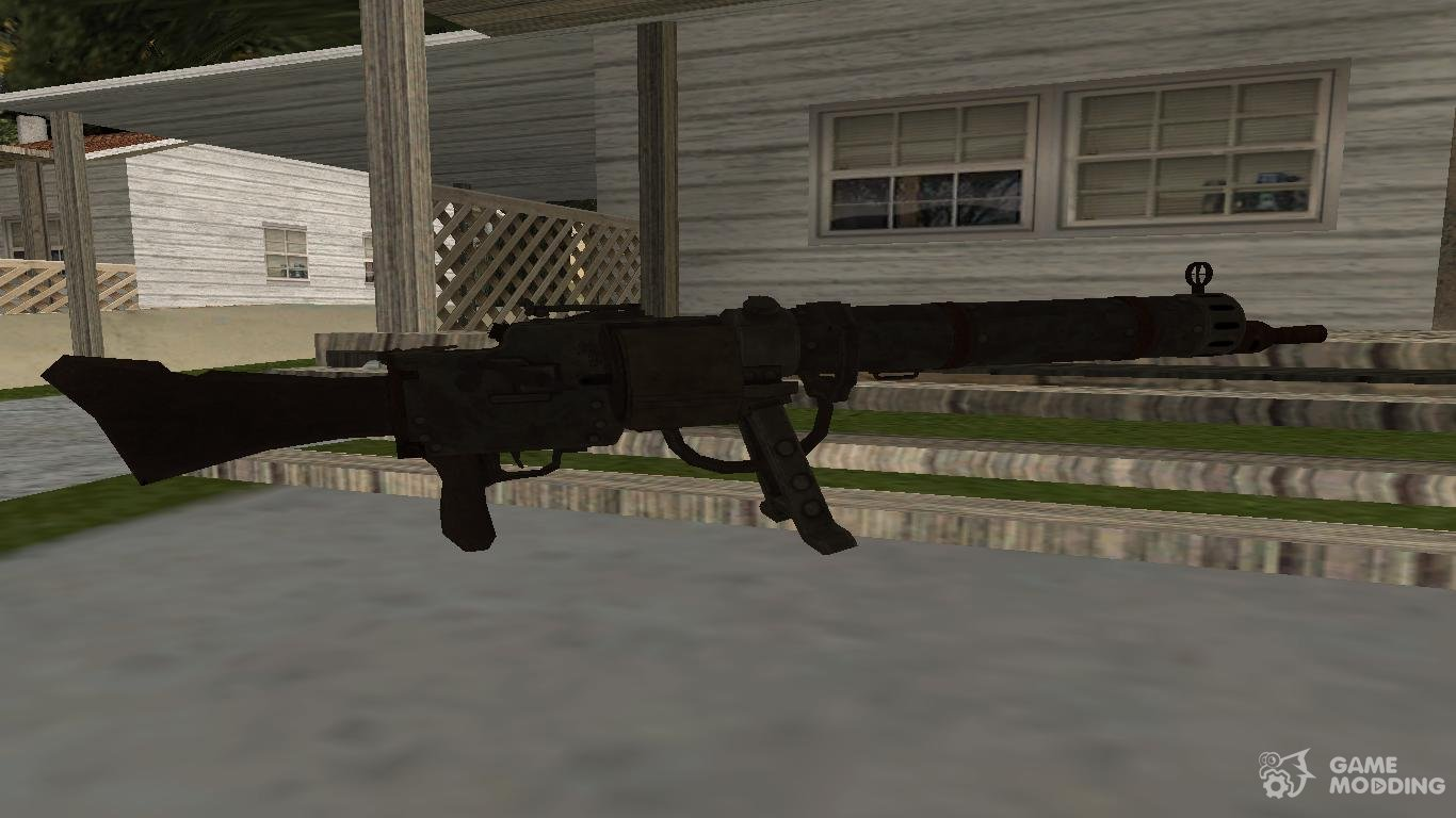 COD: Black Ops 2 Zombies: MG08/15 for GTA San Andreas