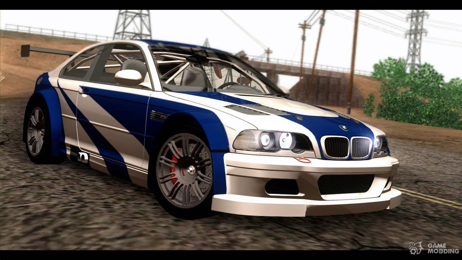 bmw m3 gtr e46 2004 for gta san andreas. Black Bedroom Furniture Sets. Home Design Ideas