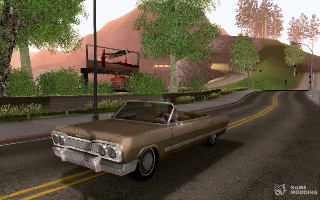 Chevrolet impala 4 door hardtop 1963 for gta san andreas - 2 For Gta San Andreas