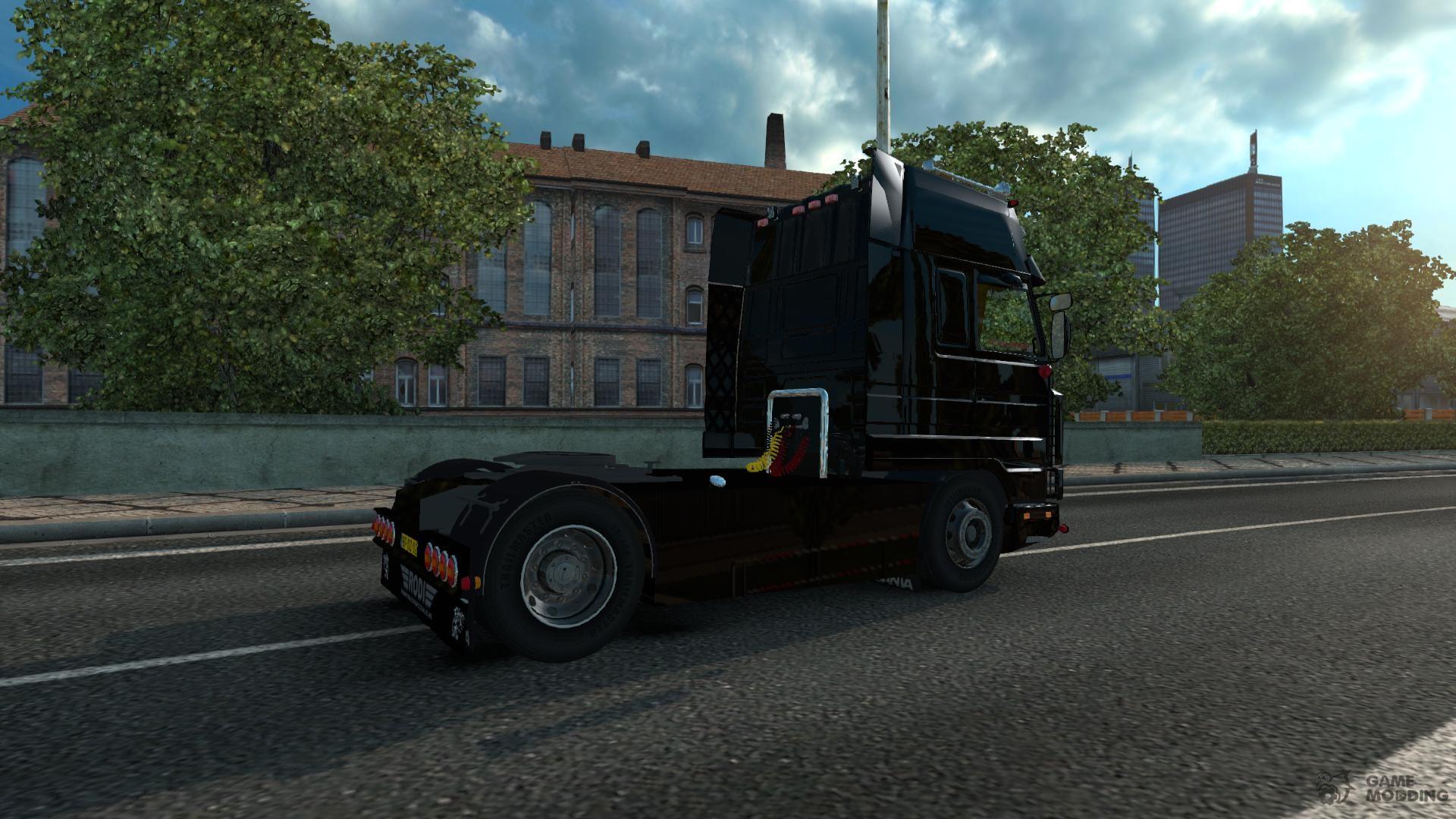 Scania 143m and V8 Sound for Euro Truck Simulator 2