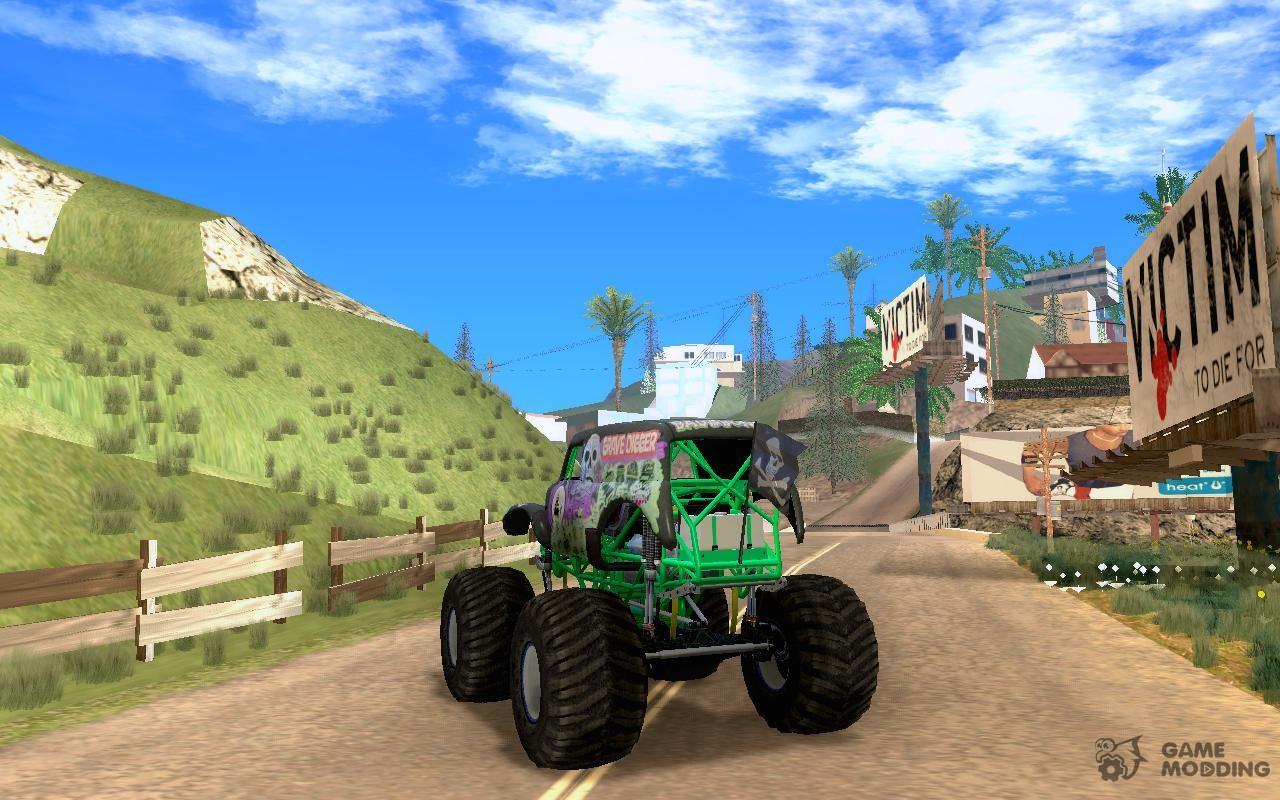 Monster Truck Grave Digger V 2 0 Final For Gta San Andreas