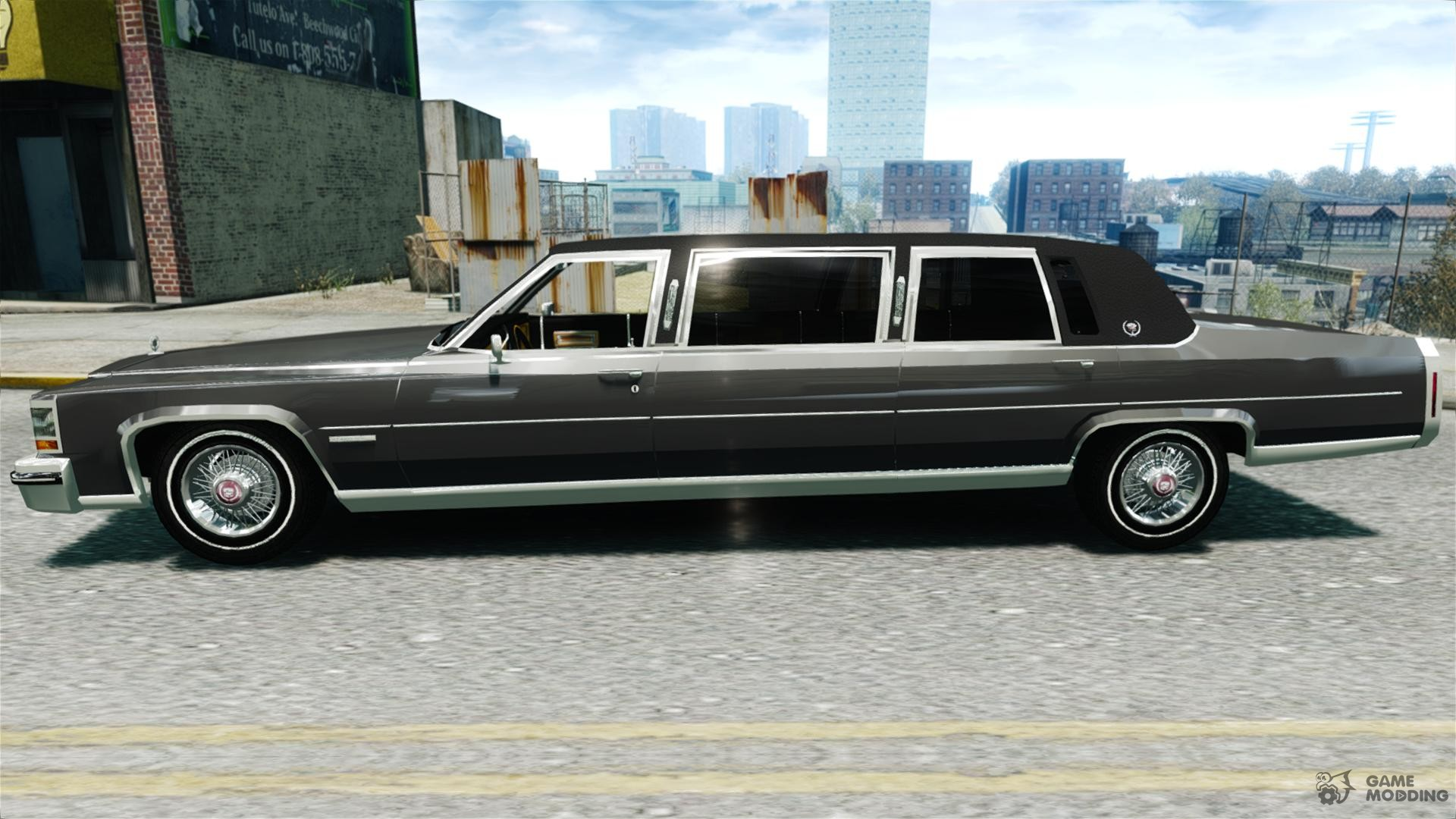 Cadillac Fleetwood Limousine 1985 Final for GTA 4