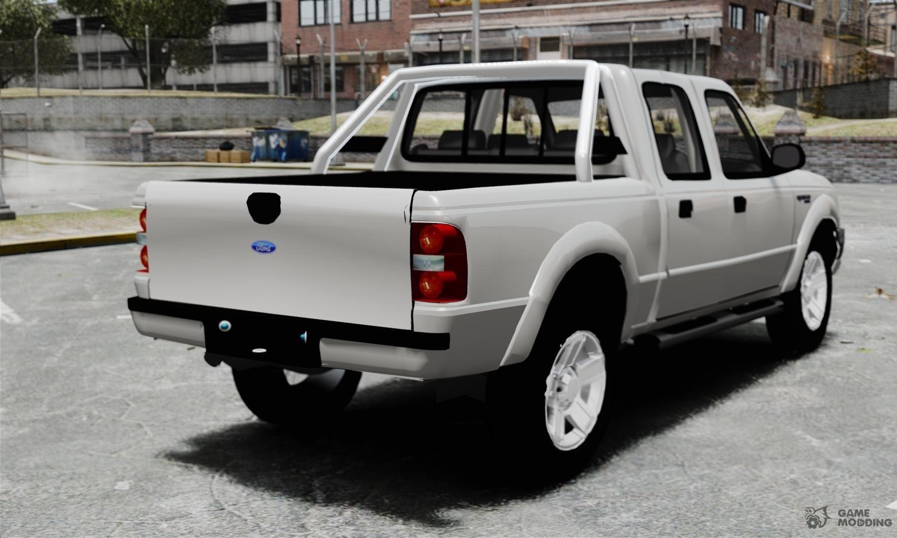 Ford ranger 2008 xlr for gta 4 rear left view