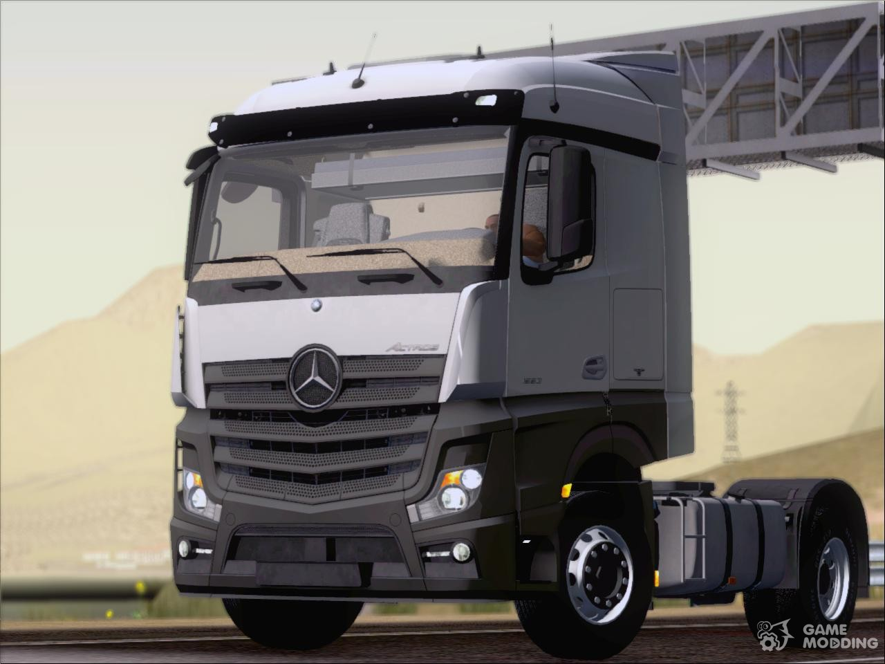 mercedes benz actros mp4 stream space black for gta san. Black Bedroom Furniture Sets. Home Design Ideas