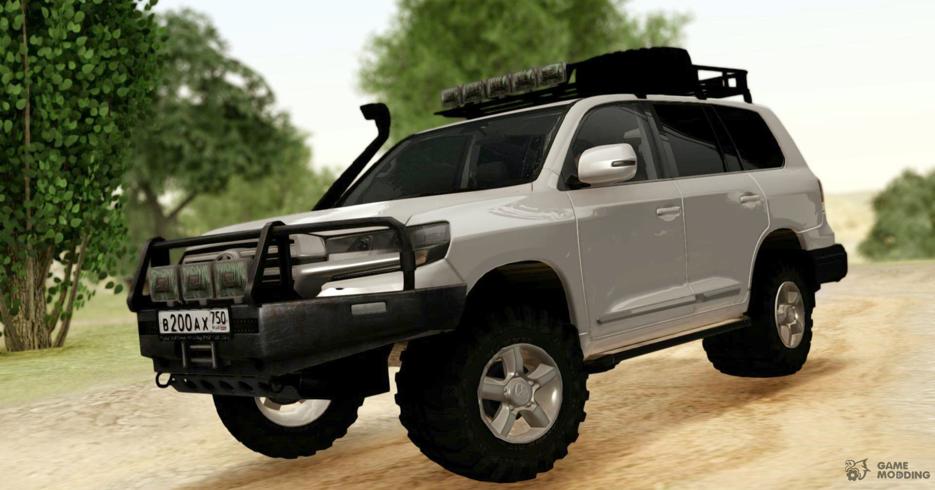 toyota land cruiser 200 off road for gta san andreas. Black Bedroom Furniture Sets. Home Design Ideas