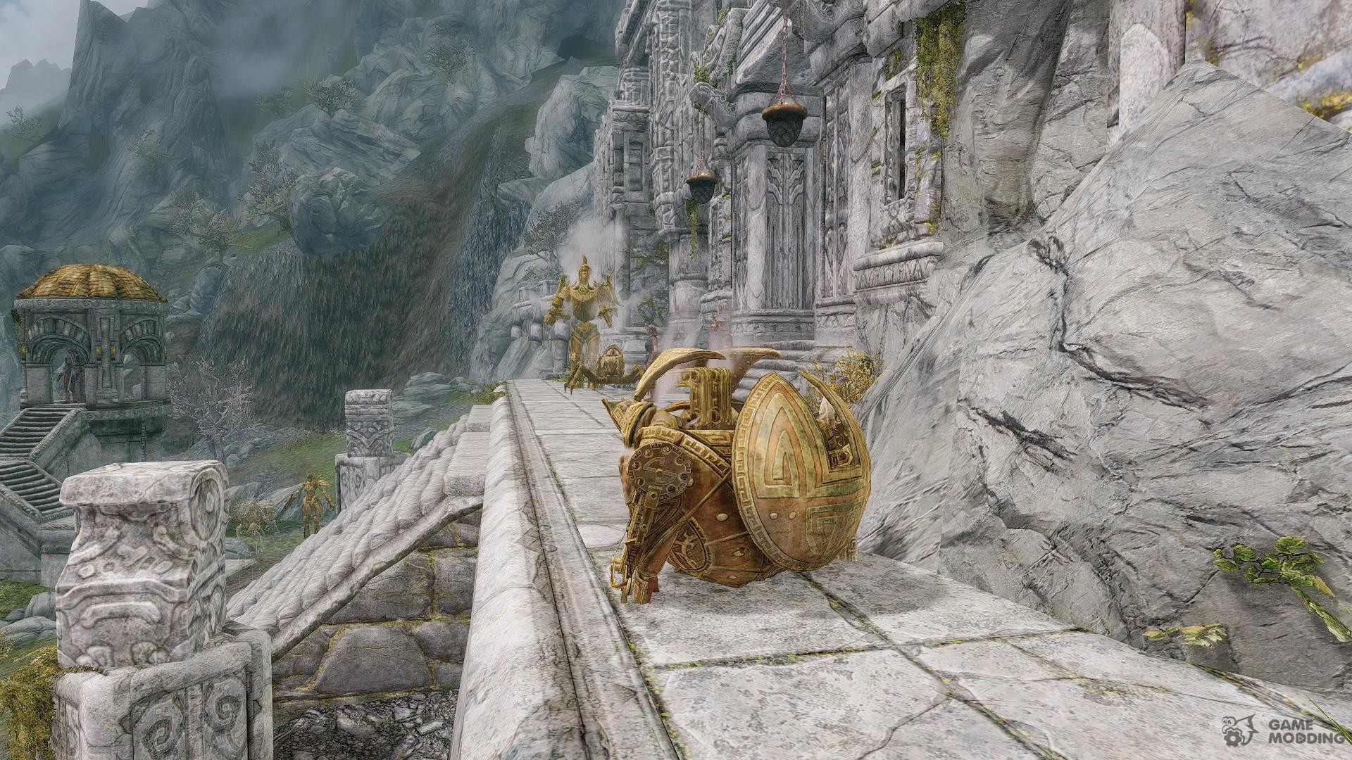 Summon Dwemer Mechanicals - Mounts and Followers for TES V