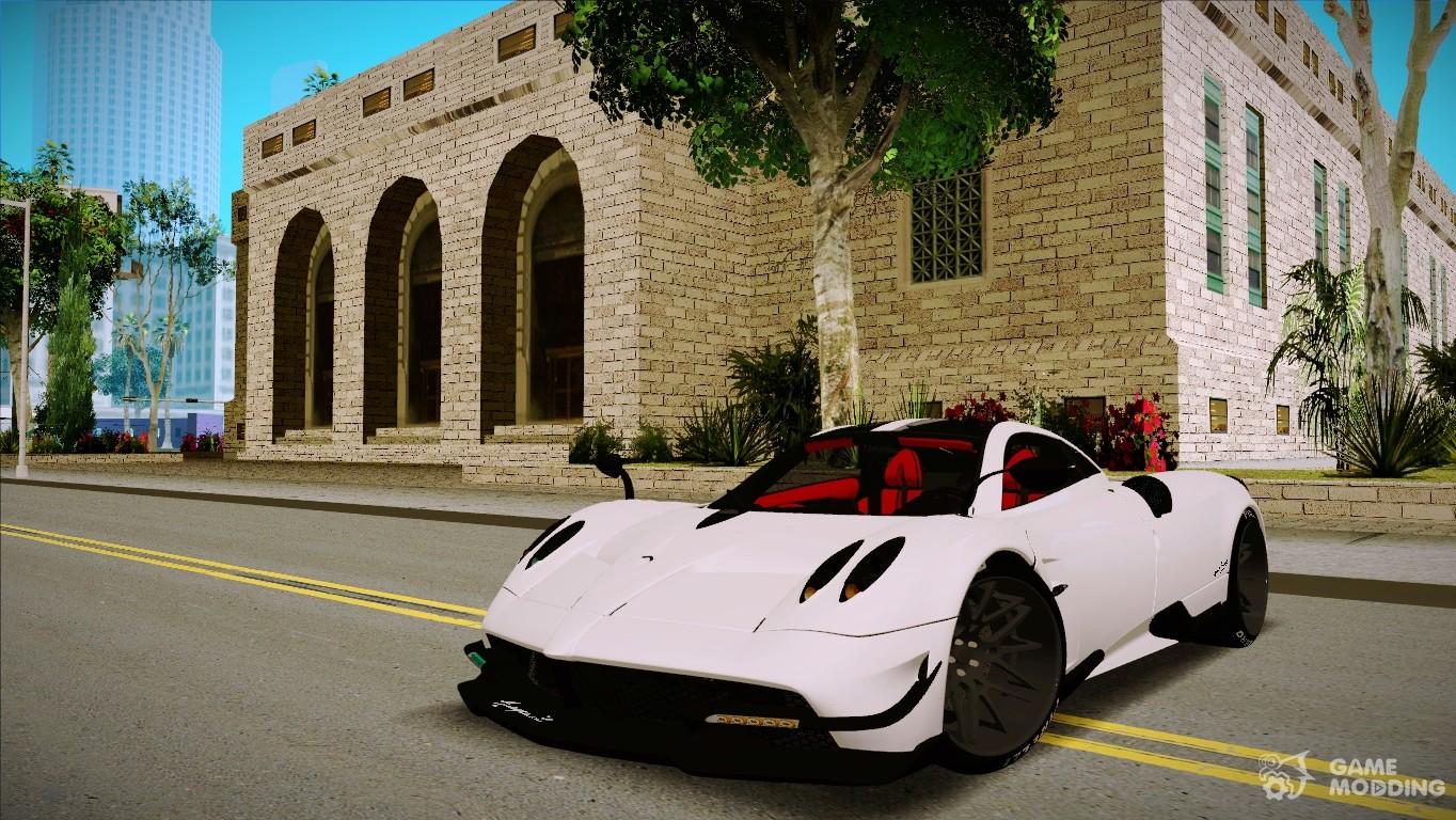 Etonnant Pagani Huayra BC 2016 For GTA San Andreas