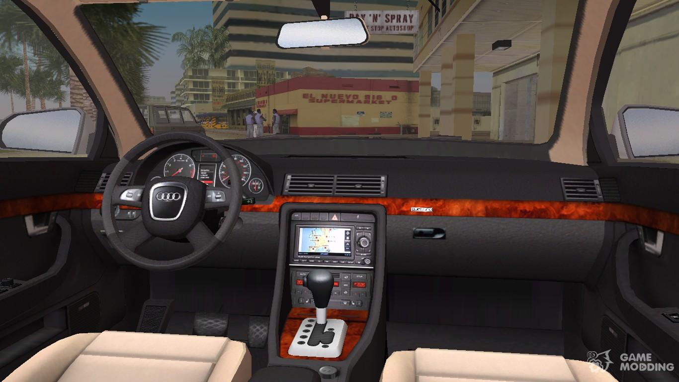 2005 Audi A4 Sedan 30 Tdi Quattro For Gta Vice City Radio