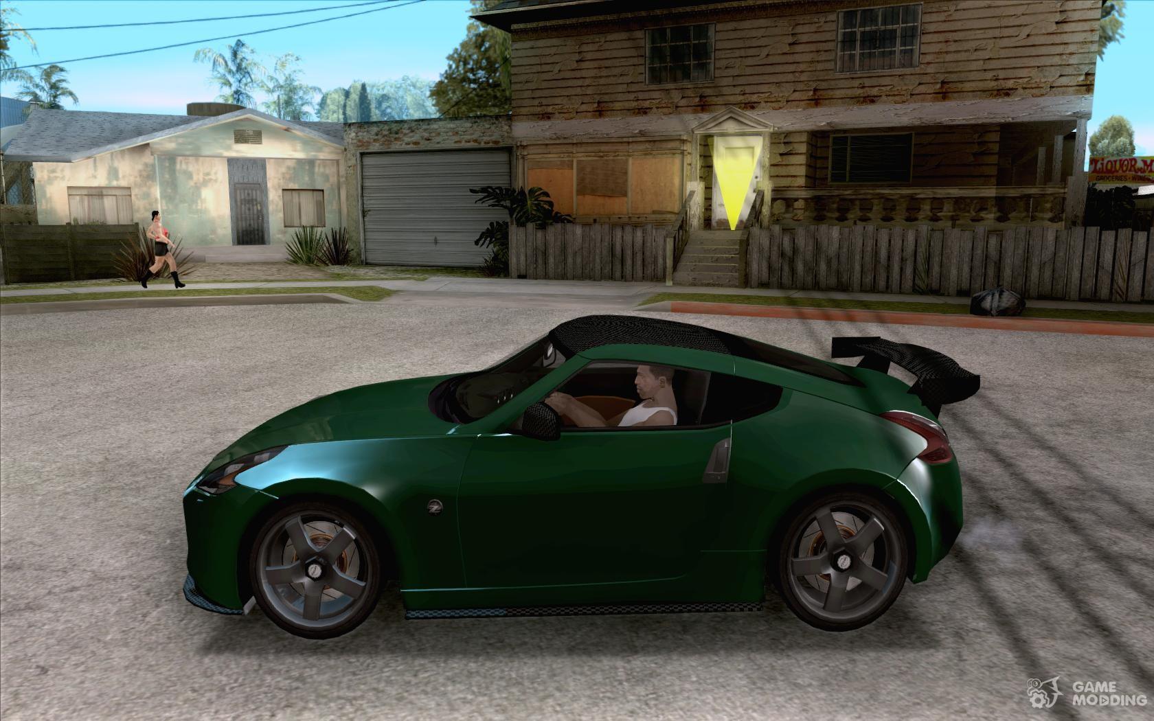Nissan 370z drift 2009 v1 0 for gta san andreas left view