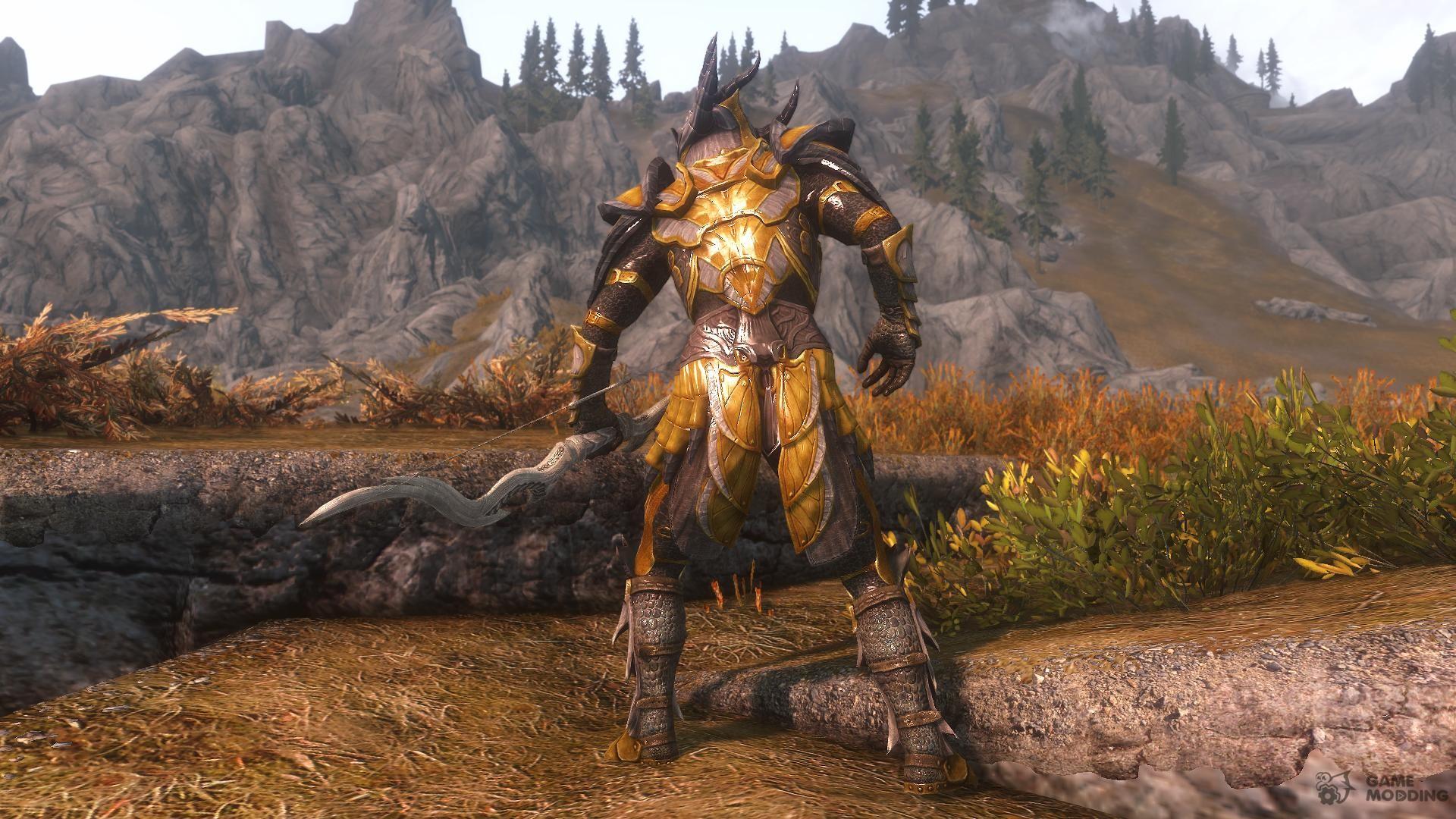 Allannaa Skyrim Dragonslayer Armour for TES V: Skyrim