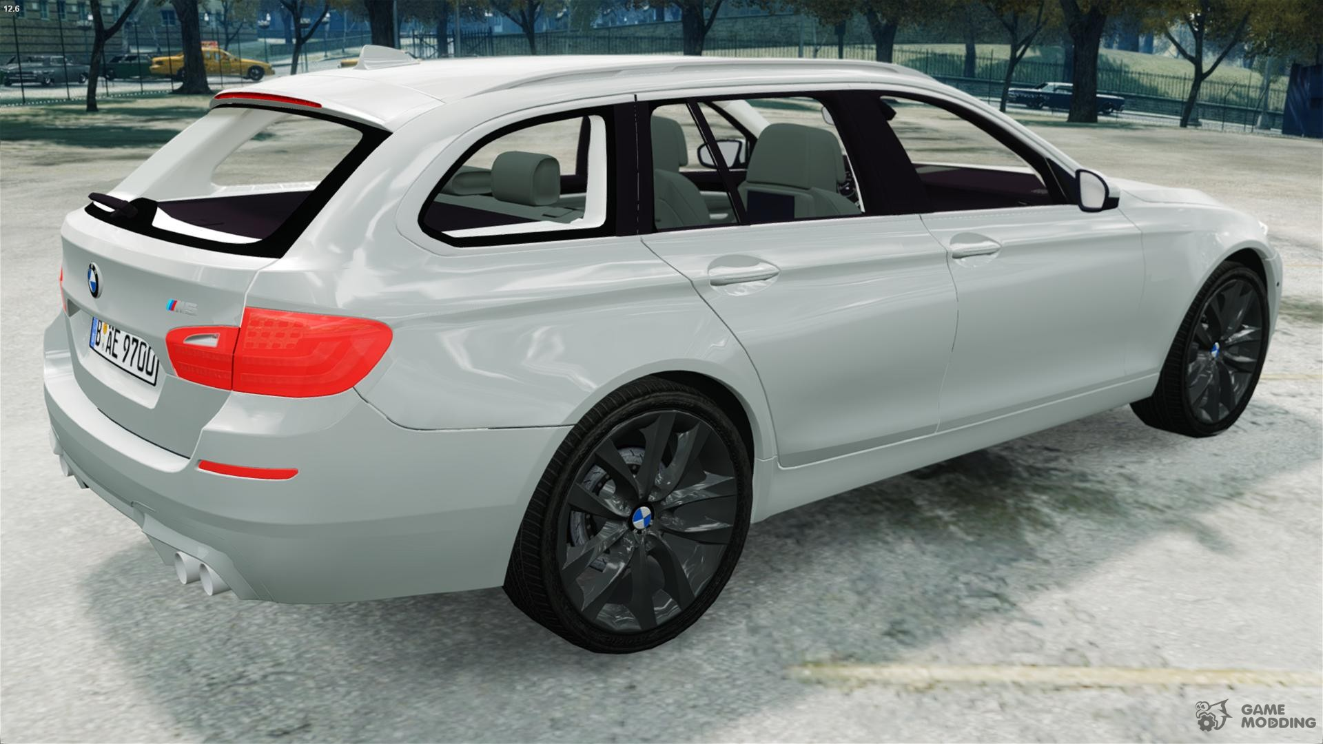 Bmw m5 f11 touring for gta 4 inside view