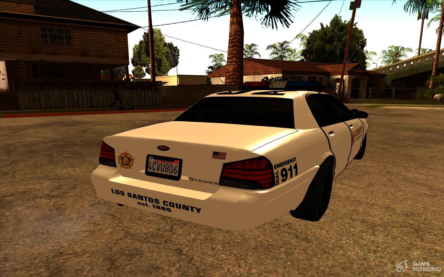 Sheriff Cruiser of GTA 5 for GTA San Andreas