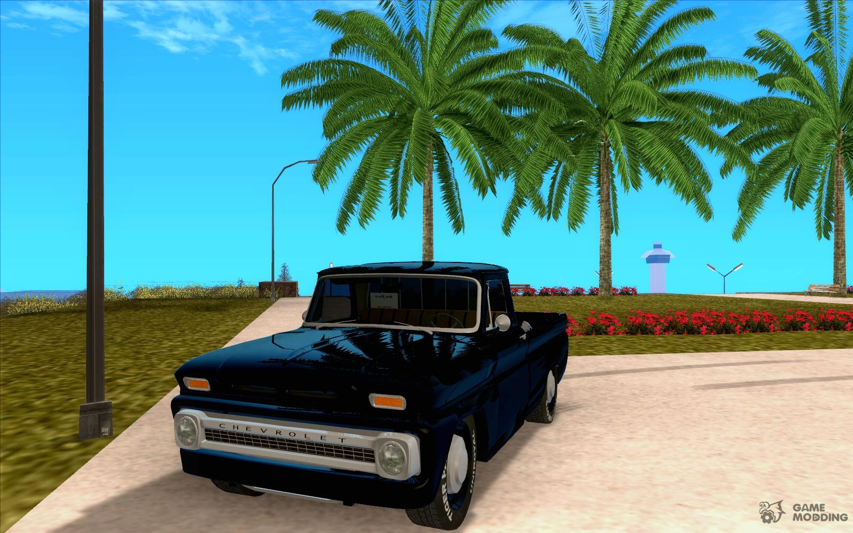 1966 Chevrolet C10 Pickup Truck Slamvan For Gta San Andreas