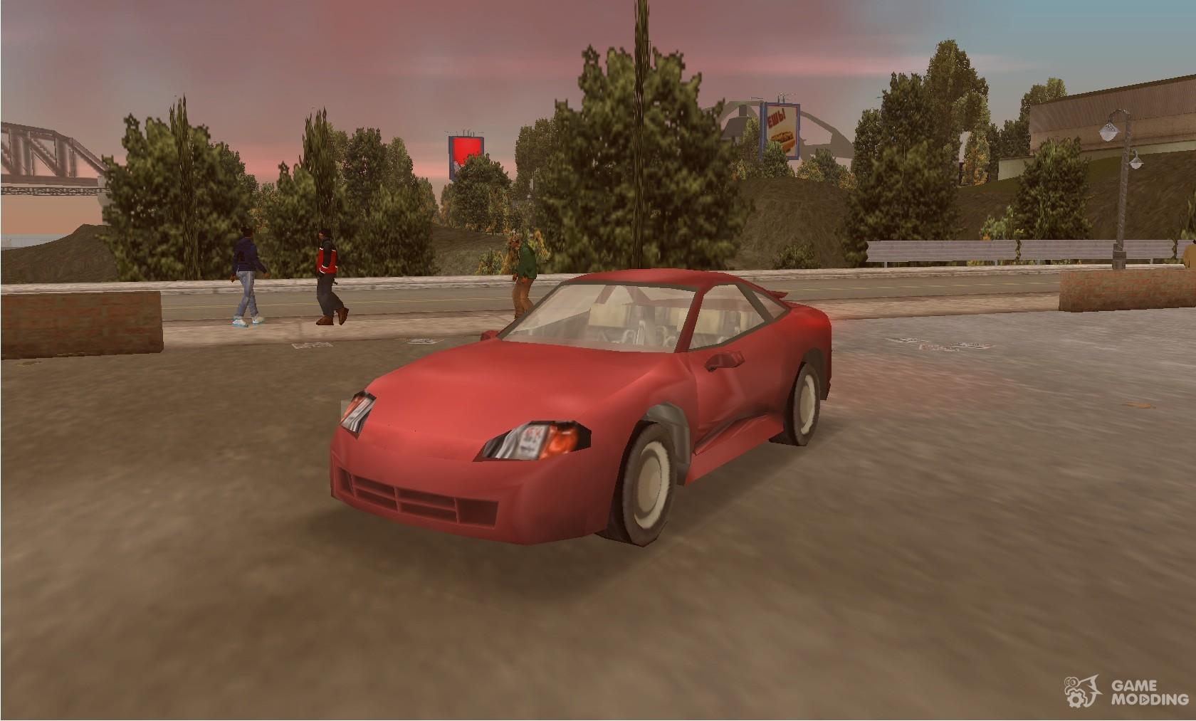 Dodge Stealth 2002 For Gta 3