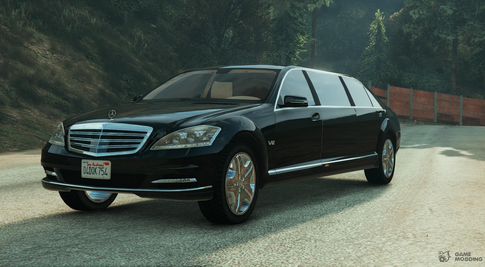 Dundreary stretch replace for gta 5 for 2011 mercedes benz s600