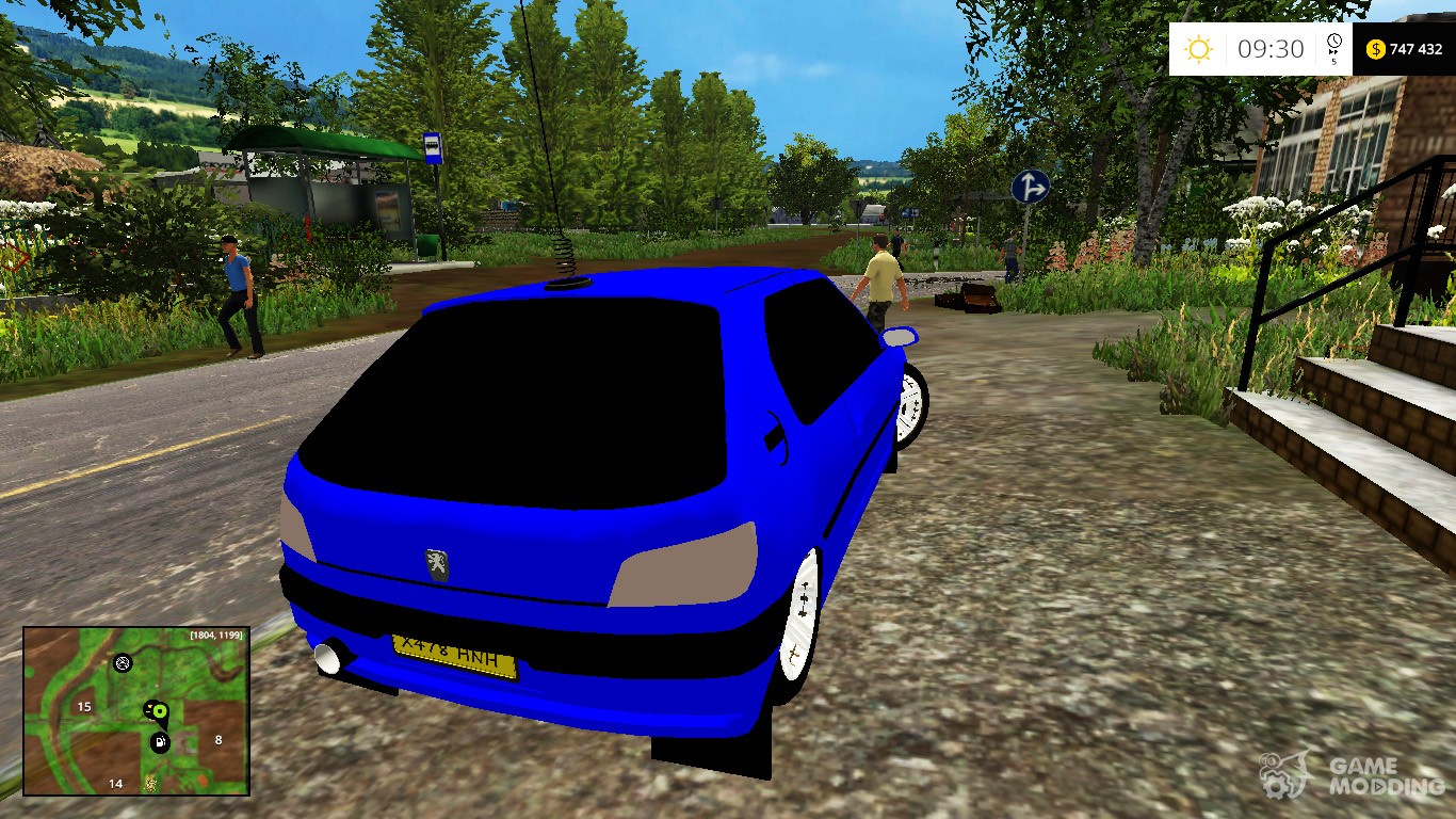 peugeot 306 dt v1 0 for farming simulator 2015. Black Bedroom Furniture Sets. Home Design Ideas