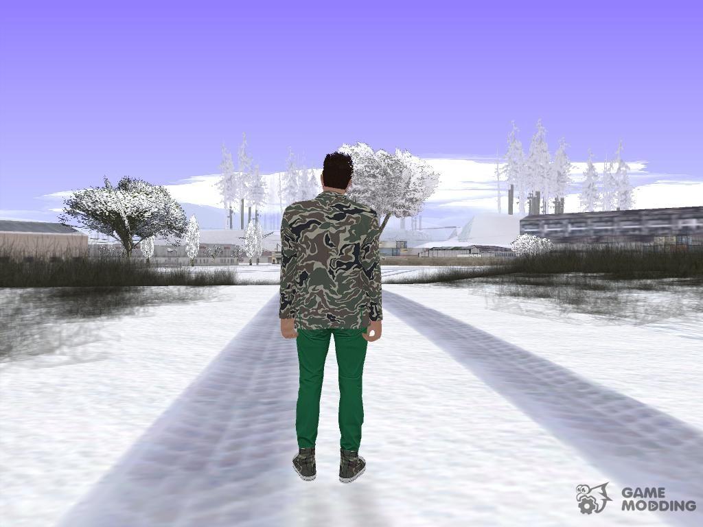 Skin GTA Online Random v3 for GTA San Andreas