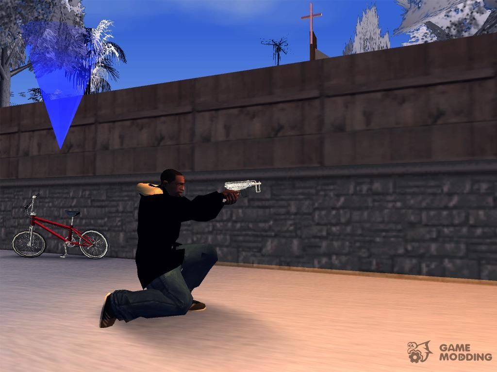 how to get smg in gta san andreas