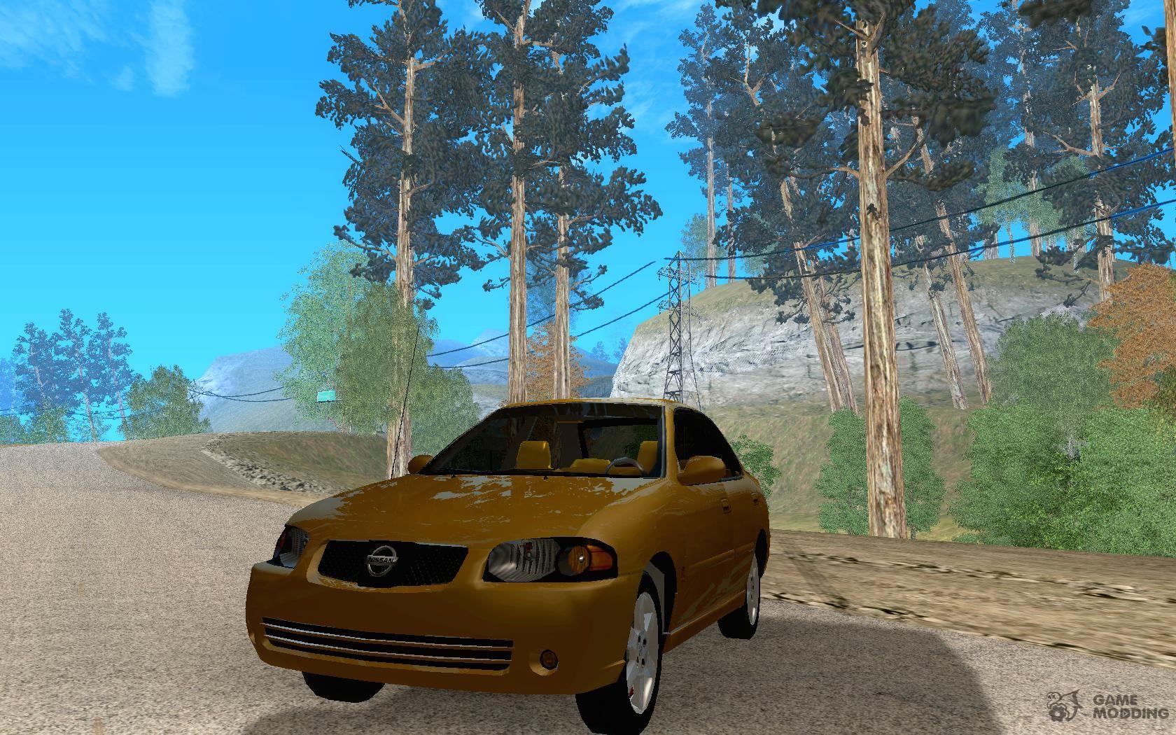 Nissan Sentra SE-R Spec-V 2004 for GTA San Andreas