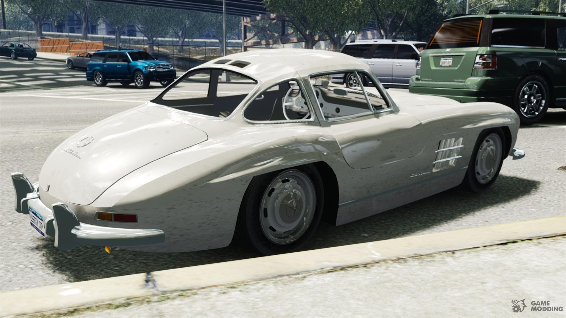 Mercedes benz 300sl gullwing for gta 4 for Mercedes benz gullwing