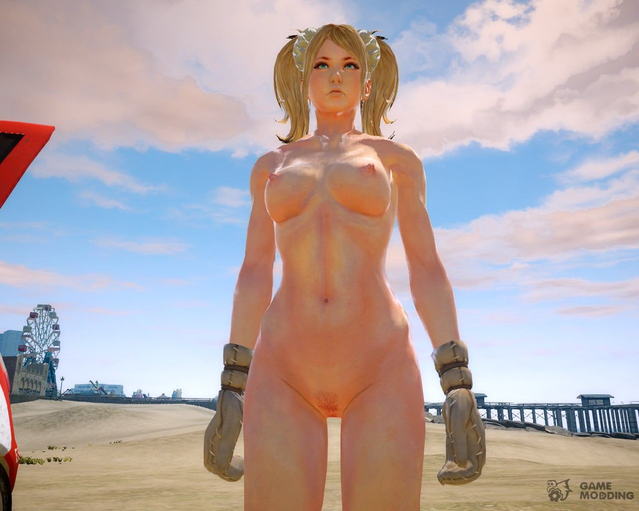 Naked girl on gta erotic clip