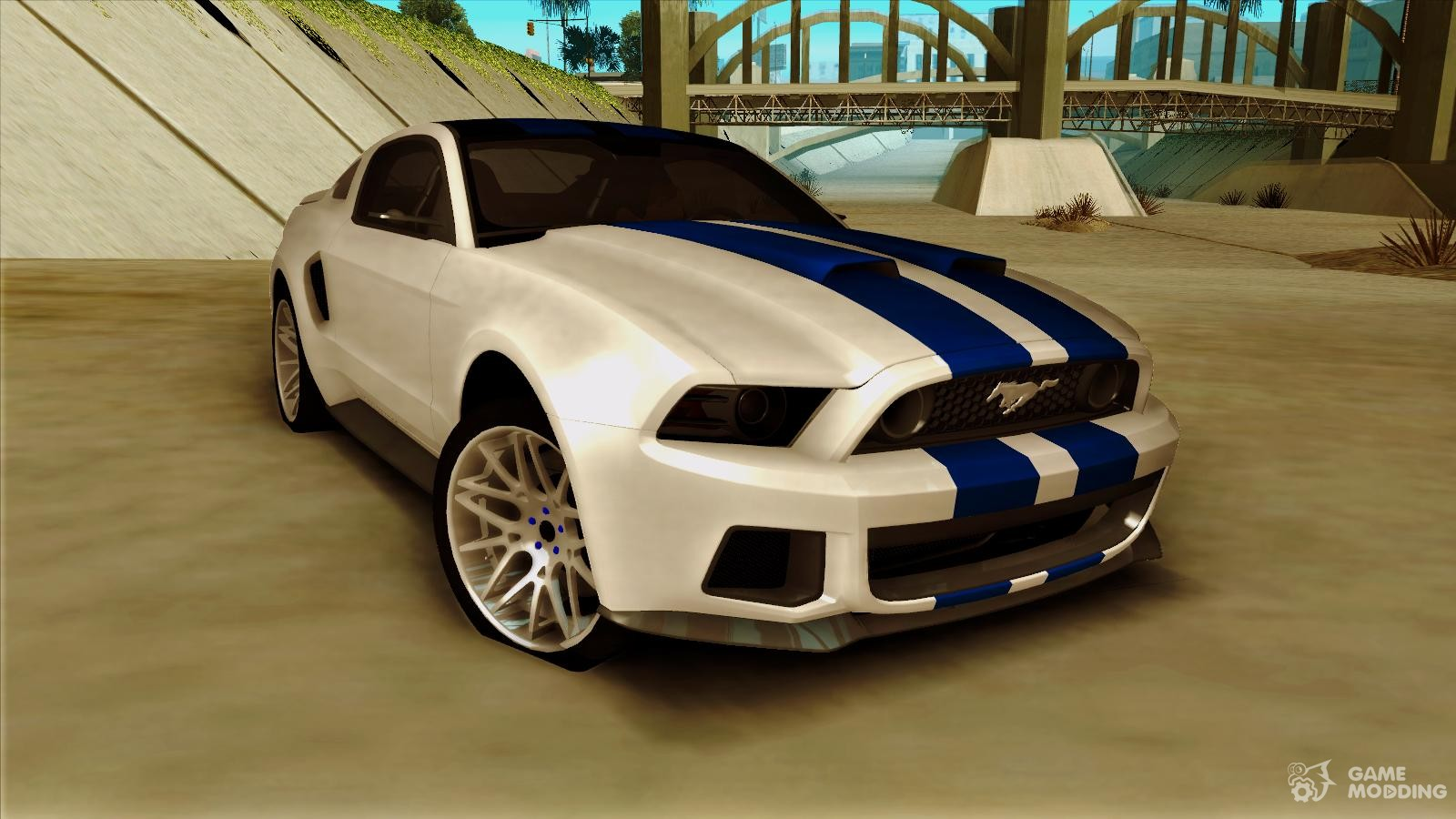 ford mustang 2013 need for speed movie edition for gta san. Black Bedroom Furniture Sets. Home Design Ideas